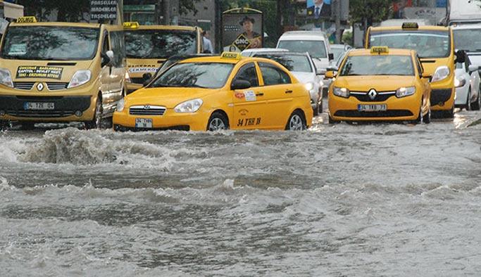 İstanbul'a sel ve su baskınları uyarısı