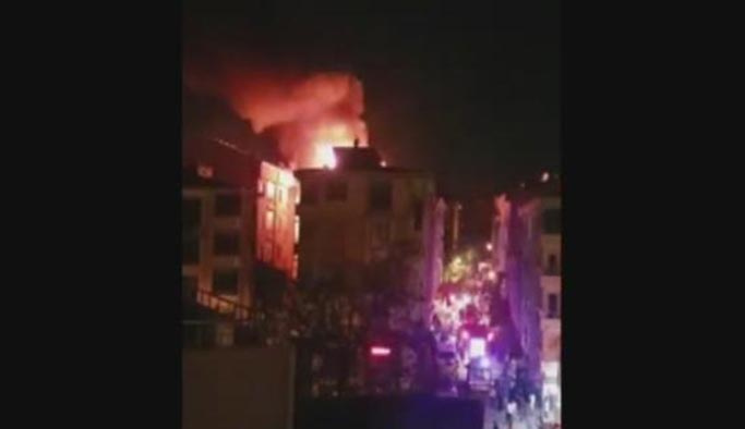İstanbul Esenyurt'ta korkutan yangın