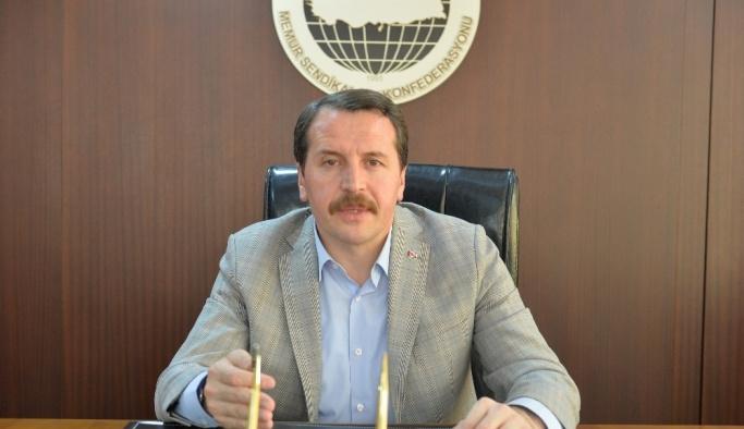 Memur-Sen Başkanı: Mescid-i Aksa'nın çığlığına sessiz kalamayız