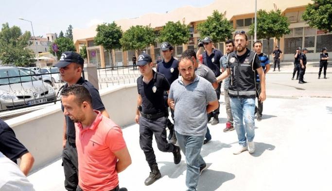 Mersin'de suç örgütü operasyonu: 11 gözaltı