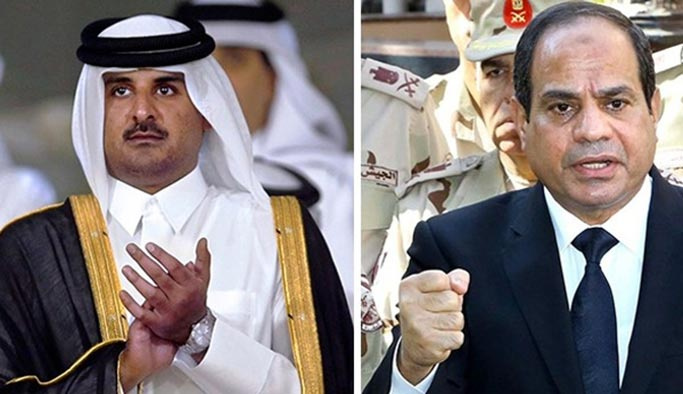 Mısır'dan Katar'a vize kararı