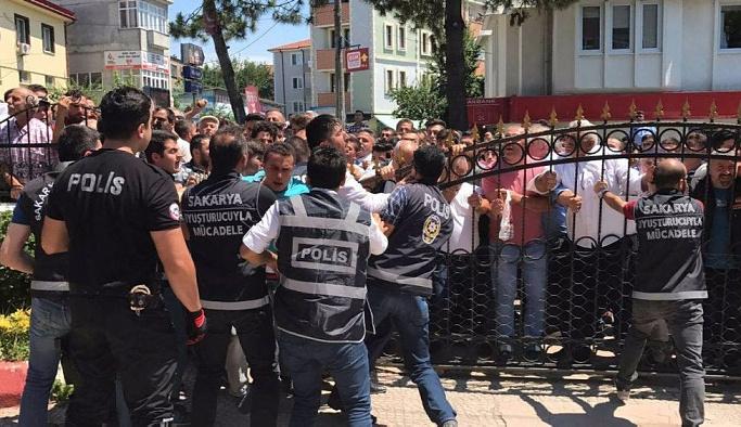 Sakarya halkı insanlık dışı olaya karşı ayakta