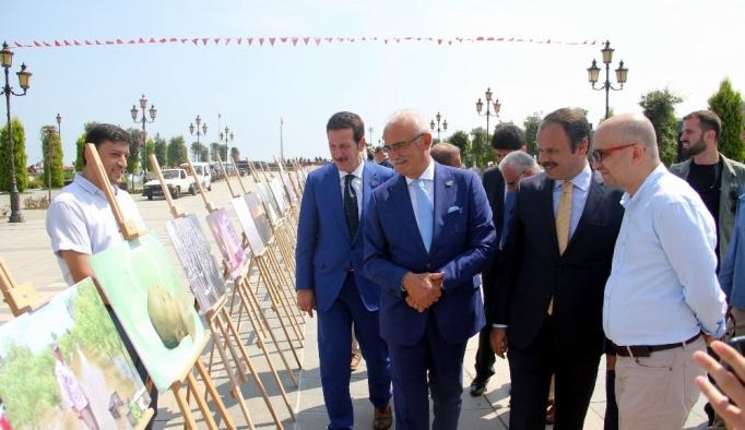 Samsun'da muhabirlerin çektiği fotoğraflar sergilendi