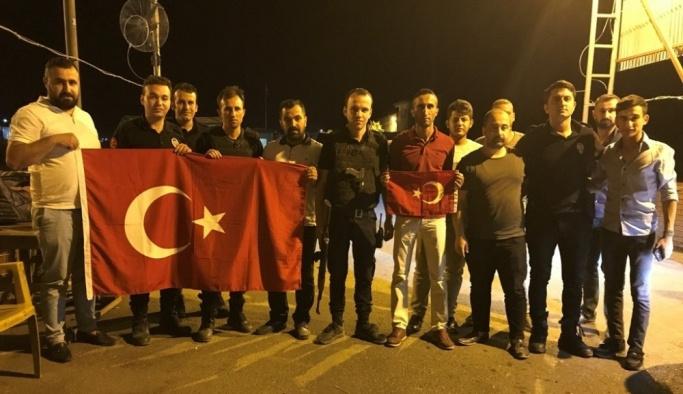 Silopi'de polis ve askere moral ziyareti