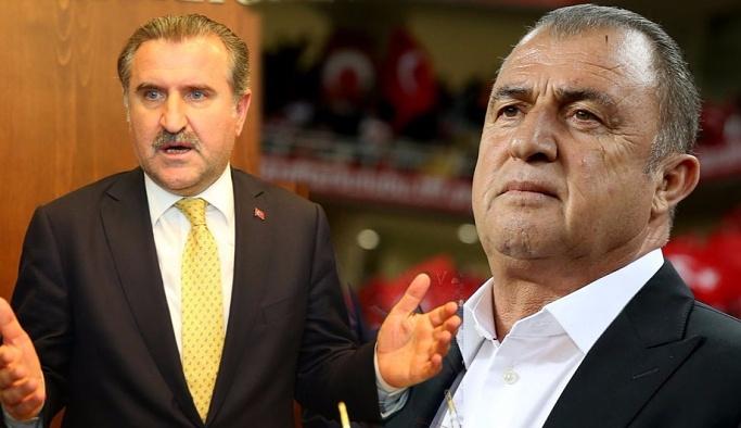 Spor Bakanı Bak'tan Fatih Terim açıklaması