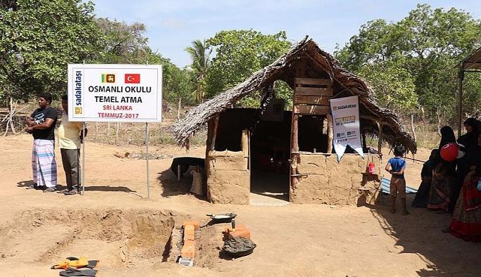 Sri Lanka'da 'Osmanlı Okulu'nun temelleri atıldı