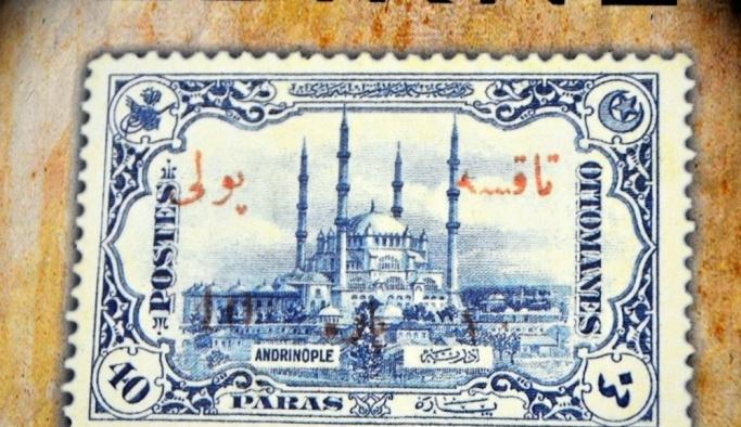 Tarihte basılmış ilk resimli posta pulunda Selimiye Camii yer almış