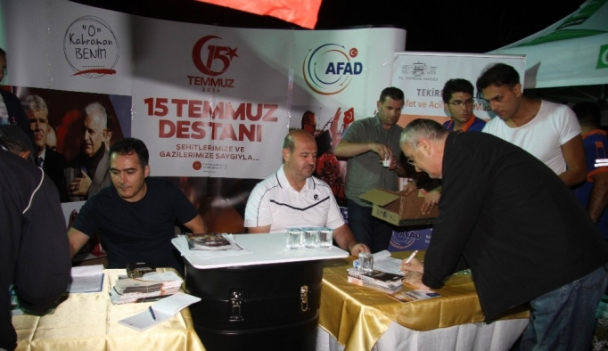 Tekirdağ'da 534 kişi AFAD gönüllüsü oldu