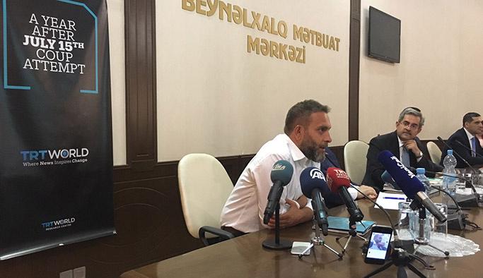 TRT World'den Azerbaycan'da 15 Temmuz paneli