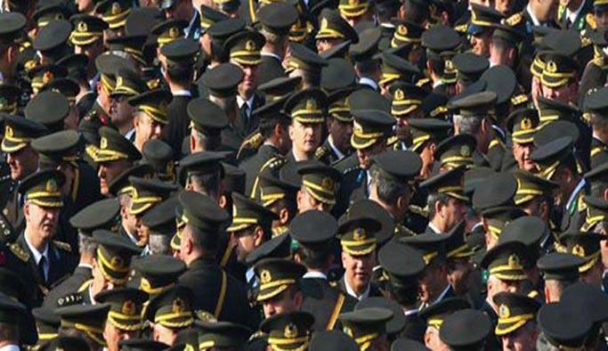 TSK'da general ve amiral sayısı yüzde 40 düştü