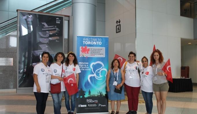 Türk ebelerden Kanada çıkarması