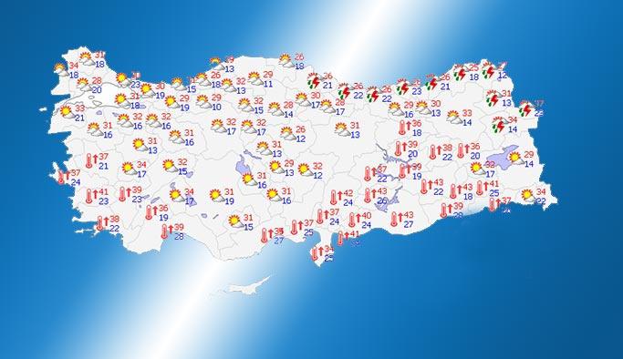 Hava Durumu: Marmara'da havalar ısınacak