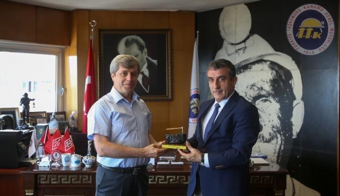 Vali Çınar'dan Eroğlu'na ziyaret