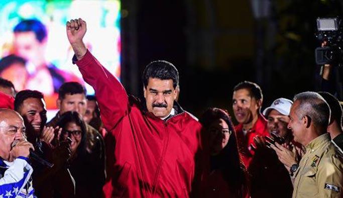 Venezuela seçimlerinin kaybedeni ABD