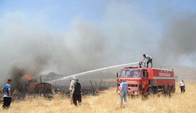 Yangına anında müdahale olası faciadan kurtardı