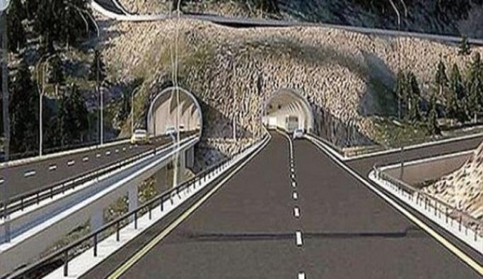 Yeni Zigana tünelinin yüzde 25'i bitti