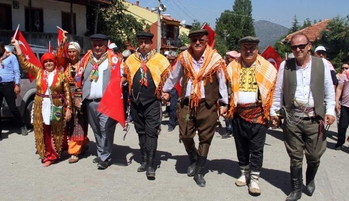 23. Beşkaza Yaylaları Geleneksel Uluslararası Kültür Şenliği renkli görüntülere sahne oldu