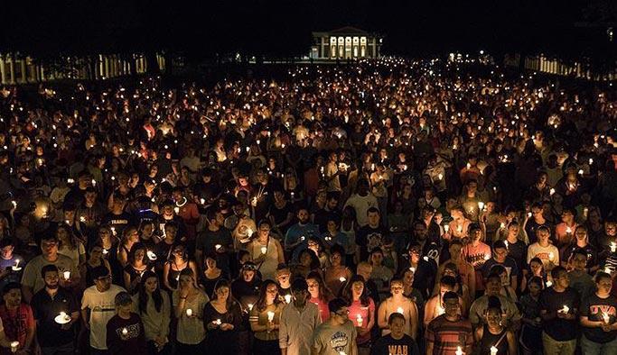 ABD'de binlerce kişi şiddet olaylarını protesto etti