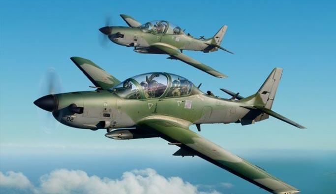 ABD'den Nijerya'ya hafif taarruz uçakları