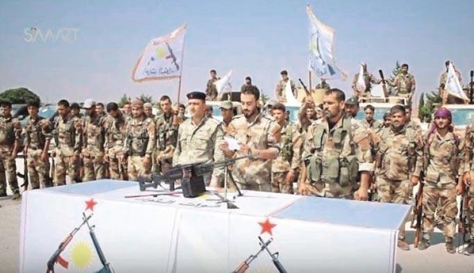 ABD, Suriye'de PKK'ya bir örgüt daha kurdurdu