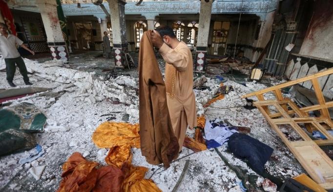 20 kişinin öldüğü cami saldırısını DEAŞ üstlendi