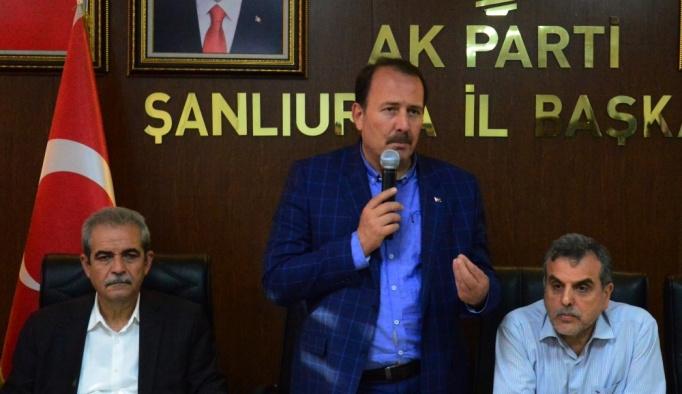 AK Parti Genel Başkan Yardımcısı Karacan, Şanlıurfa'da