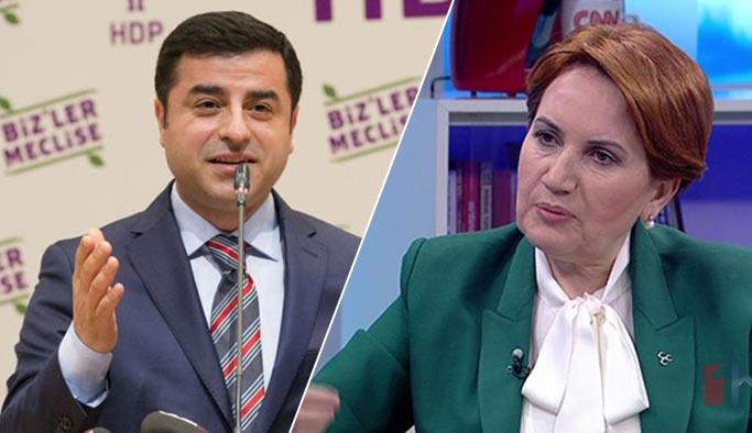 Akşener ve HDP'de erken seçim paniği