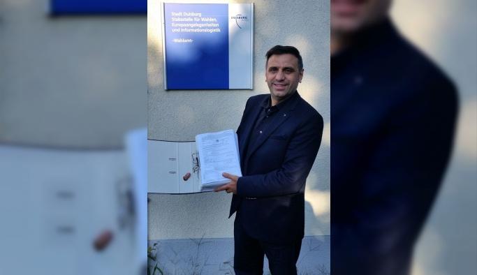 Almanya'da belediye başkanlığına Türk aday