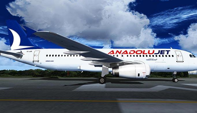 AnadoluJet'ten 39 TL'ye uçuş imkânı