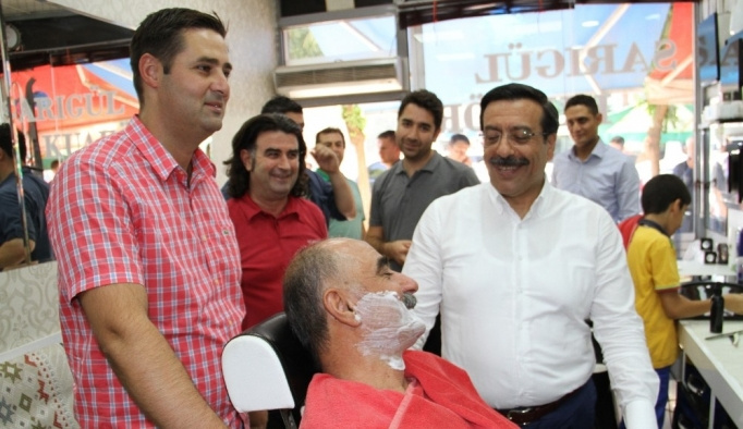 Başkan Atilla Bismil'de incelemelerde bulundu