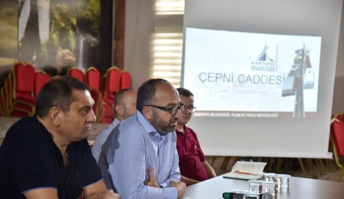 Başkan Üzülmez Suadiye vizyon projesini anlattı