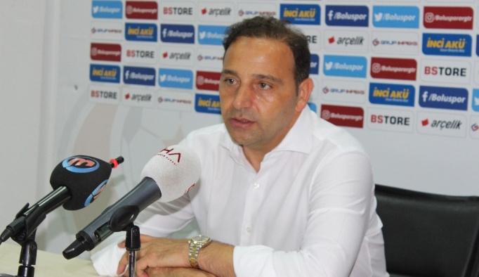 Boluspor Teknik Direktörü Fuat Çapa: