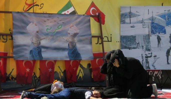 Cerablus'ta Fırat Kalkanı Harekatının 1'inci yıl kutlamaları