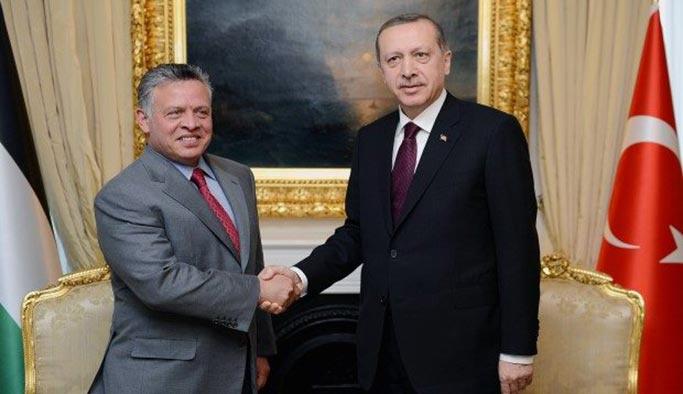 Cumhurbaşkanı Erdoğan bugün Ürdün'e gitti