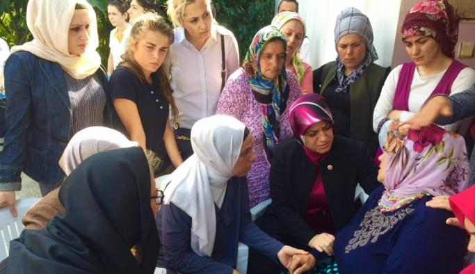 Cumhurbaşkanı Erdoğan'dan, şehit Eren'in annesine taziye