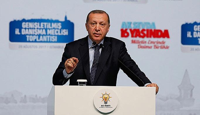 Erdoğan racon kesen köşe yazarlarına: Racon kesilecekse ben keserim
