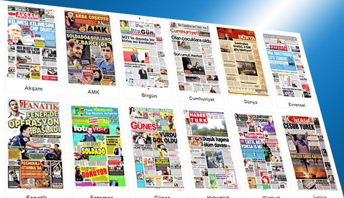 Gazetelerin bugünkü manşetleri 10 Ağustos 2017