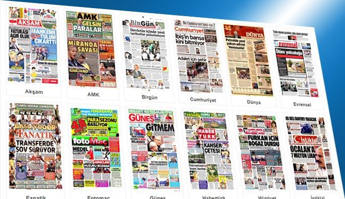 Gazetelerin bugünkü manşetleri 11 Ağustos 2017