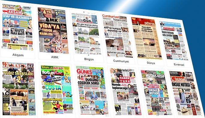 Gazetelerin bugünkü manşetleri 17 Ağustos 2017