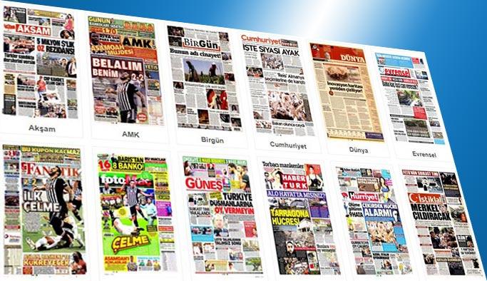 Gazetelerin bugünkü manşetleri 19 Ağustos 2017