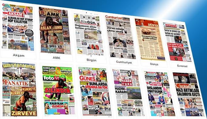 Gazetelerin bugünkü manşetleri 20 Ağustos 2017