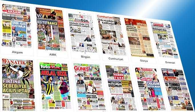 Gazetelerin bugünkü manşetleri 21 Ağustos 2017