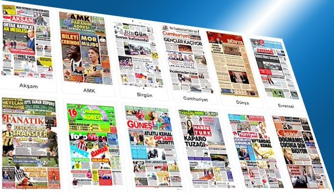 Gazetelerin bugünkü manşetleri 22 Ağustos 2017