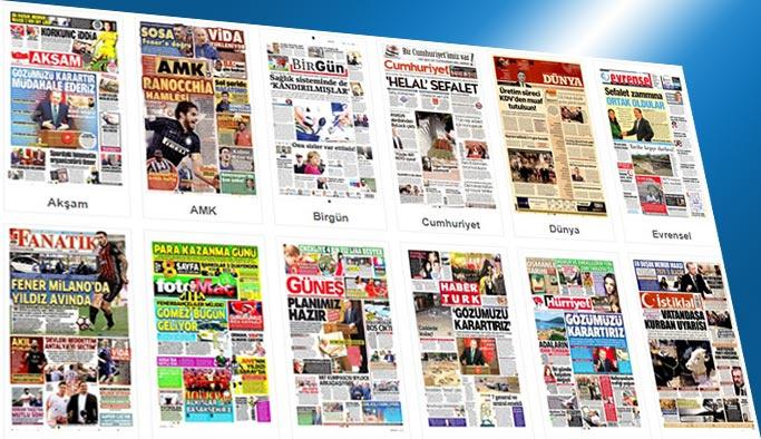 Gazetelerin bugünkü manşetleri 23 Ağustos 2017
