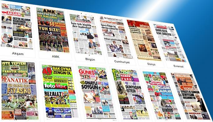 Gazetelerin bugünkü manşetleri 25 Ağustos 2017