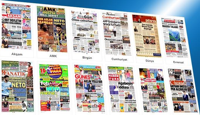 Gazetelerin bugünkü manşetleri 29 Ağustos 2017