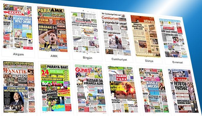 Gazetelerin bugünkü manşetleri 4 Ağustos 2017