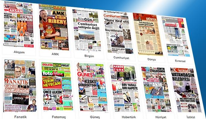 Gazetelerin bugünkü manşetleri 5 Ağustos 2017