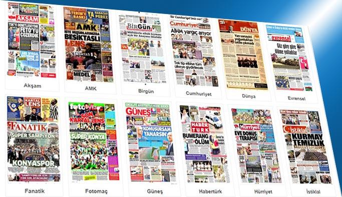 Gazetelerin bugünkü manşetleri 7 Ağustos 2017