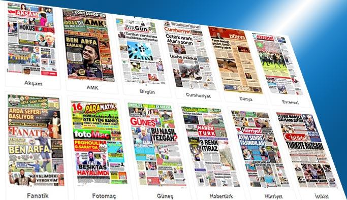 Gazetelerin bugünkü manşetleri 8 Ağustos